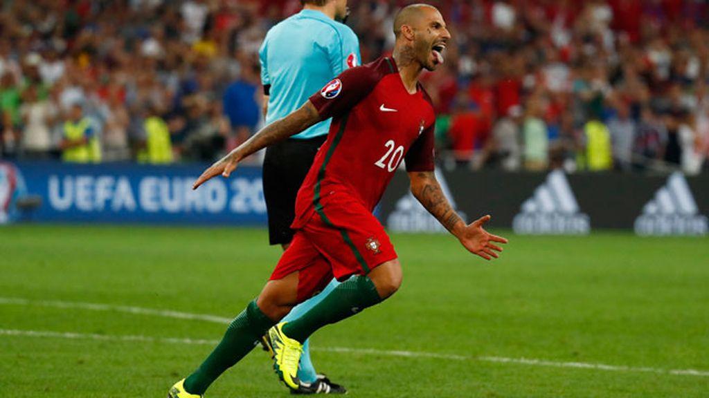 ¡Gol de Quaresma para dar la victoria y el pase a 'semis' a Portugal!