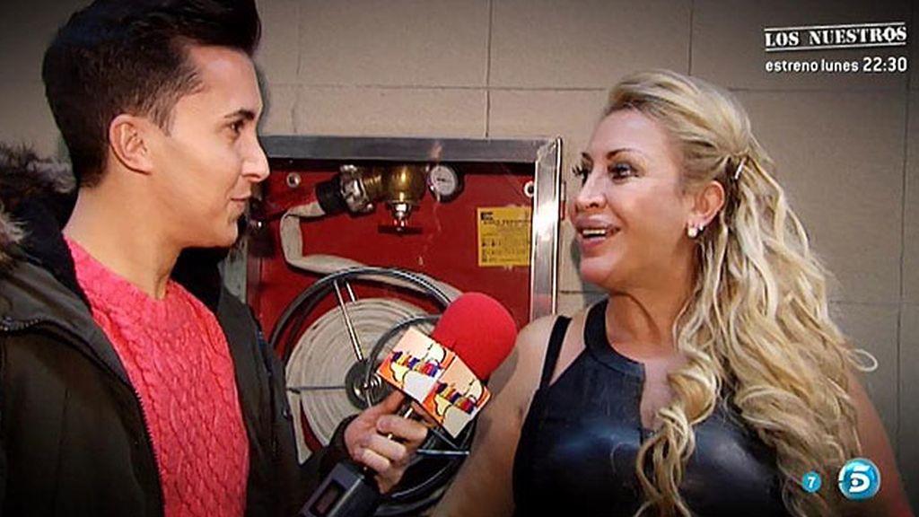 "Raquel Mosquera: ""Estoy feliz e ilusionada"""