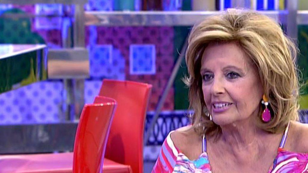 "Mª Teresa, sobre Chabelita: ""La he visto una niña protegida, mimada..."""