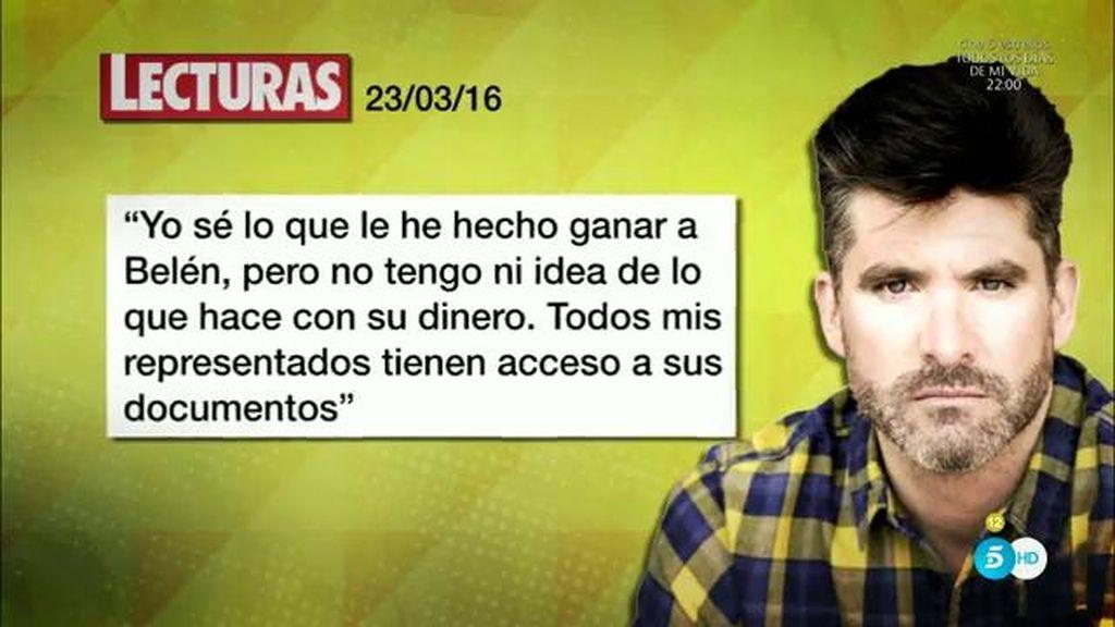 """Toño Sanchís: """"Ha sido un linchamiento público, Belén ha filtrado todo"""""""