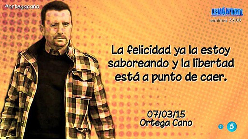"Ortega Cano: ""La libertad está cerca"""