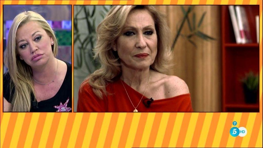 """Rosa Benito responde a Belén Esteban: """"No soy ninguna estafadora"""""""