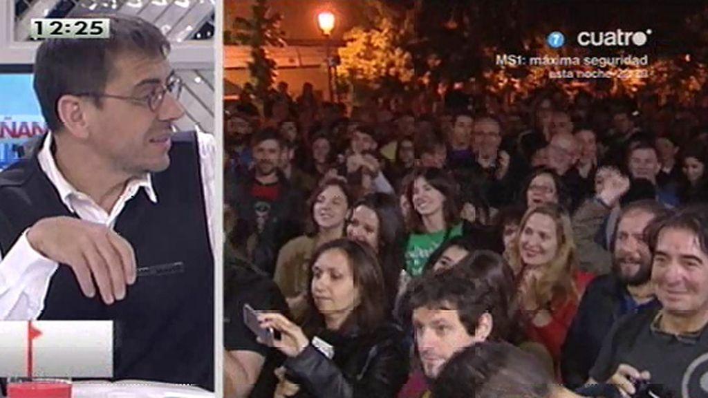 """Juan Carlos Monedero: """"Tienen miedo pero tienen que reconocer a qué tienen miedo"""""""