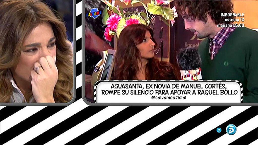 """Aguasanta, la exnuera de Raquel Bollo: """"La quiero y me va a tener siempre"""""""
