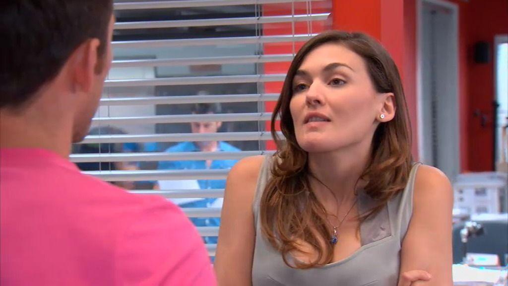 Natalia le pone las cosas claras a Raúl: no quiere nada serio con él