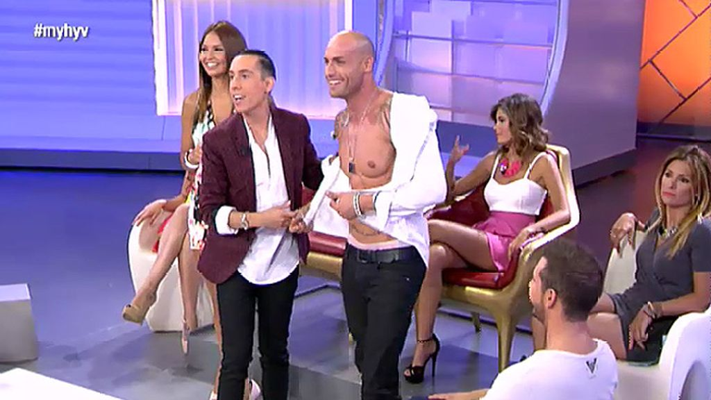 "Triana califica la peluca de Iván lcomo ""el anti morbo"""