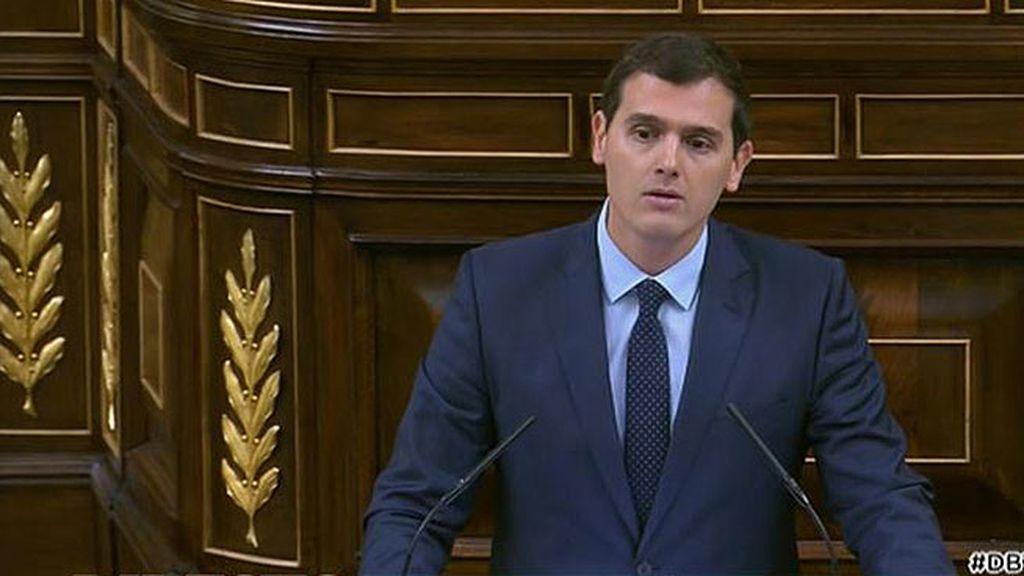 """Albert Rivera, a Rajoy: """"No puede encabezar esa nueva etapa porque desprecia que España tenga que ser reformada"""""""
