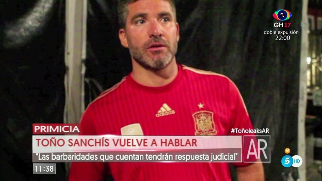 """Toño Sanchís se defiende: """"Conmigo se ha hecho una caza de brujas"""""""