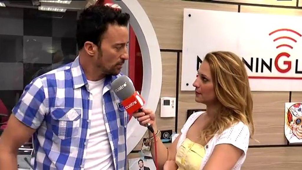 Carolina Bang, Pablo Puyol, Elena Ballesteros y Silvia Tortosa, en 'Ciega a citas'