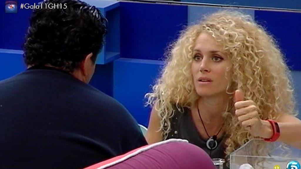 """Fran, a Azahara: """"Yo te he cogido un cariño especial y nunca te hablaré con maldad"""""""