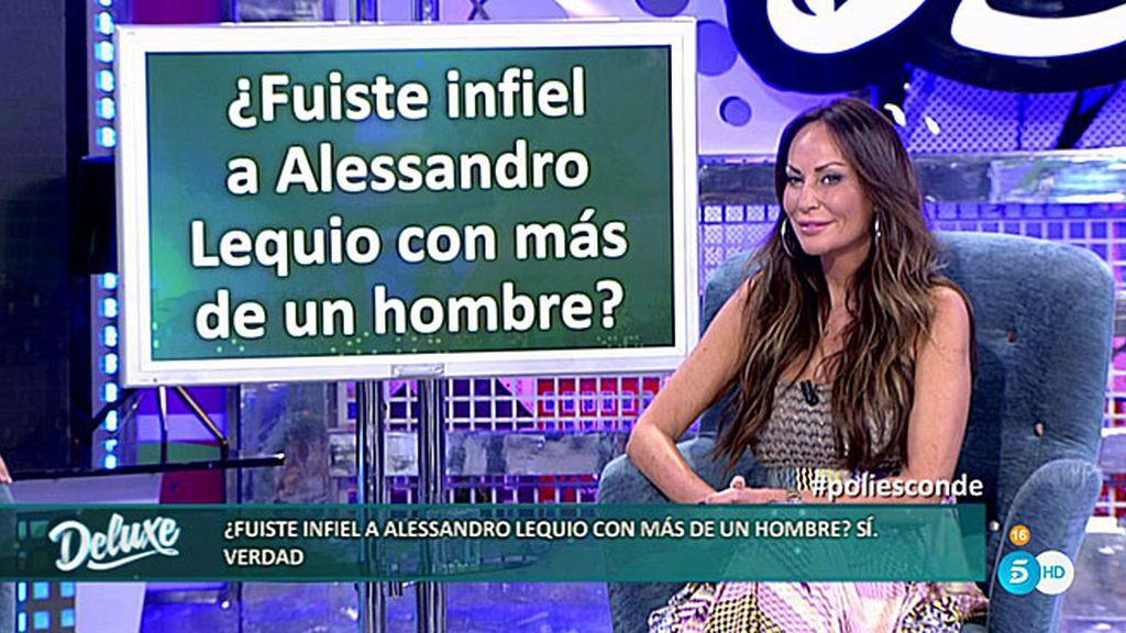 Sonia Moldes confiesa que fue infiel a Alessandro en numerosas ocasiones