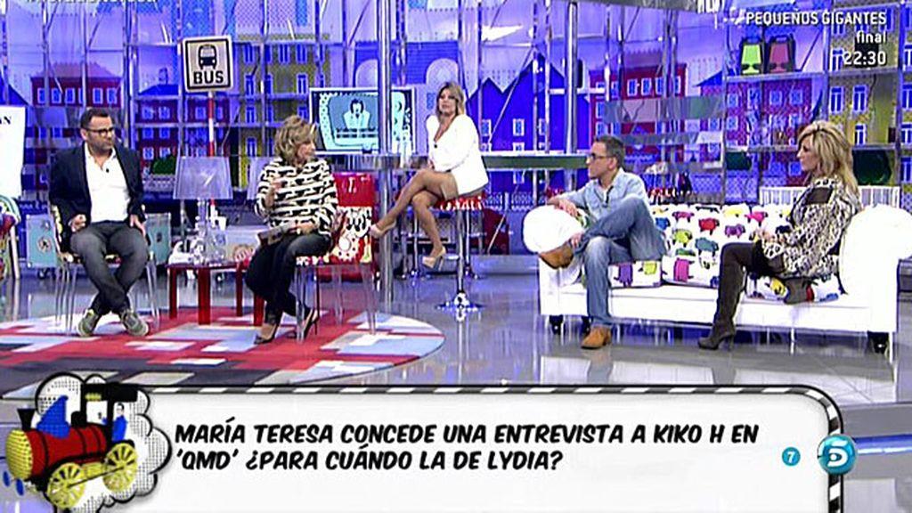 María Teresa Campos le concede una entrevista a Kiko Hernández para 'QMD!'