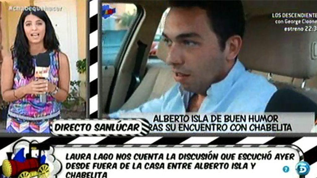 "Laura Lago, reportera de 'Sálvame': ""Isa le dijo a Alberto Isla: 'vete, si quieres"""