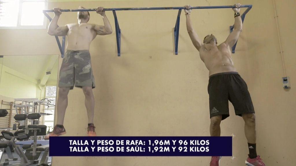 Reto de dominadas entre Saúl Craviotto y Rafa Lomana: ¿Quién ganará?