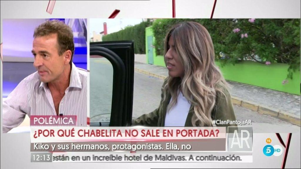 """Chabelita: """"No tengo ni idea de por qué no salgo en la portada de '¡Hola!"""""""