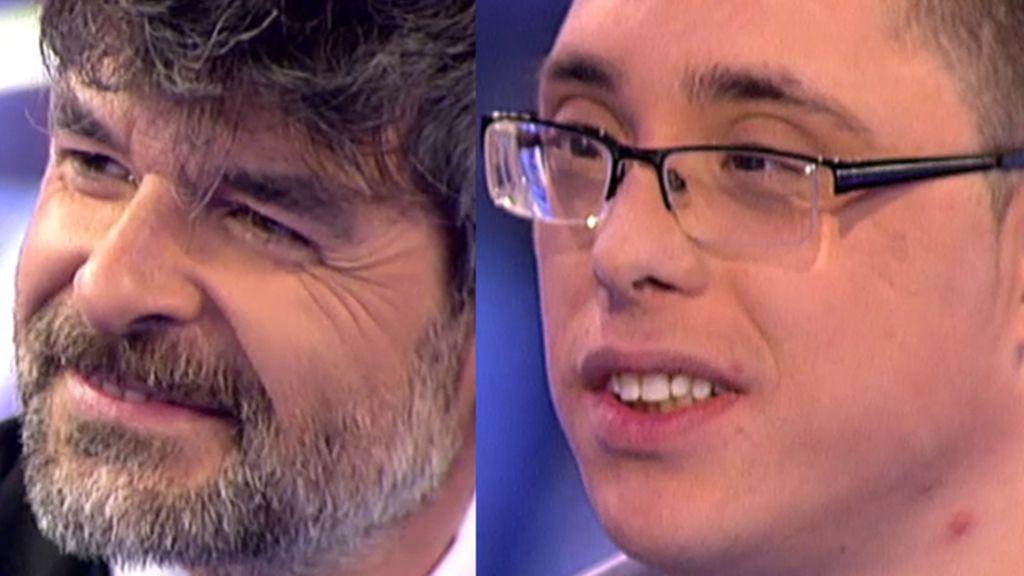 """Nacho Guerreros se emociona con Lucas: """"Me encanta tu personaje en 'LQSA"""""""
