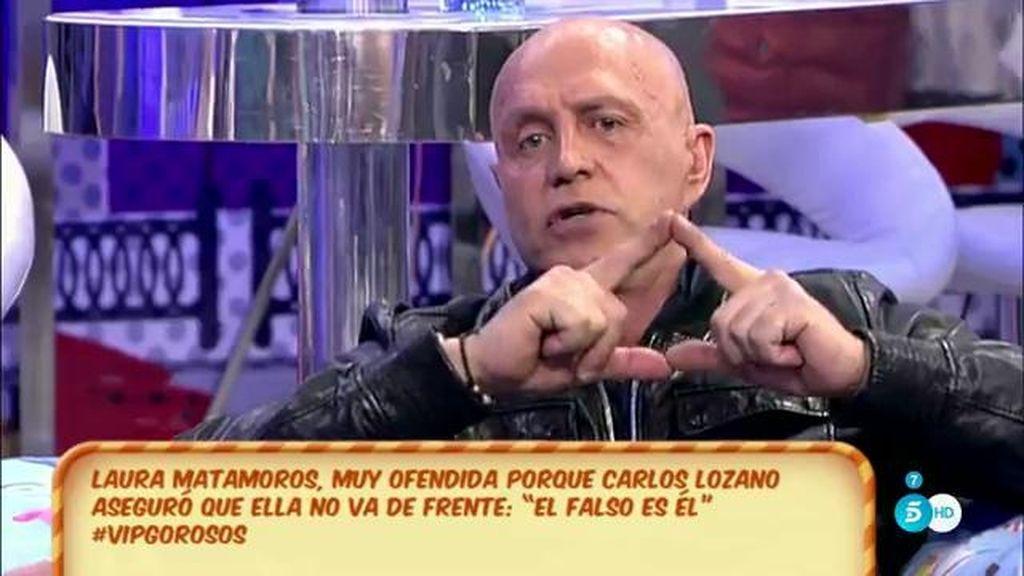 """Matamoros, de su hija y Carlos Lozano: """"Me encanta verlos enfrentados porque así son los protagonistas"""""""