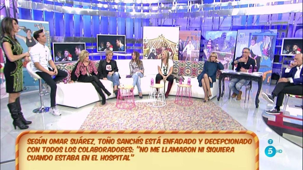 El mensaje de Toño Sanchís para los colaboradores y directores de 'Sálvame'