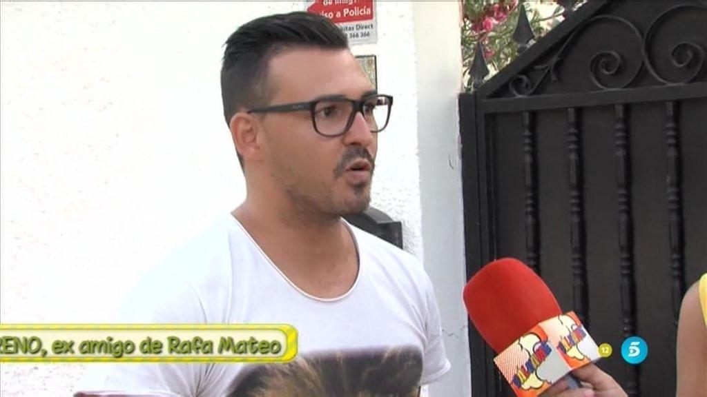 """Pablo, examigo de Rafa Mateo: """"He llegado a ver 2 o 3 millones en efectivo en su casa"""""""
