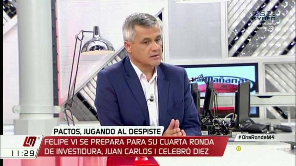 """David de Lucas: """"El PP no necesita al PSOE, que es la oposición"""""""