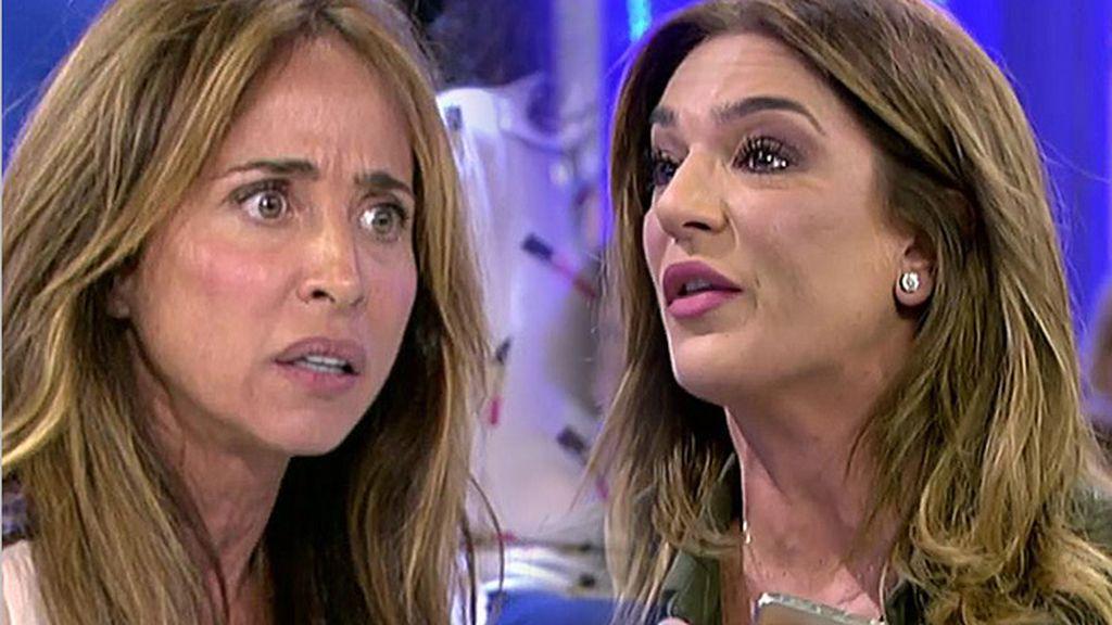 Raquel Bollo, entre lágrimas tras un cometario de María Patiño