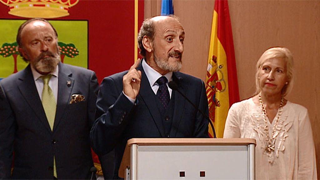 Enrique jura el cargo de alcalde