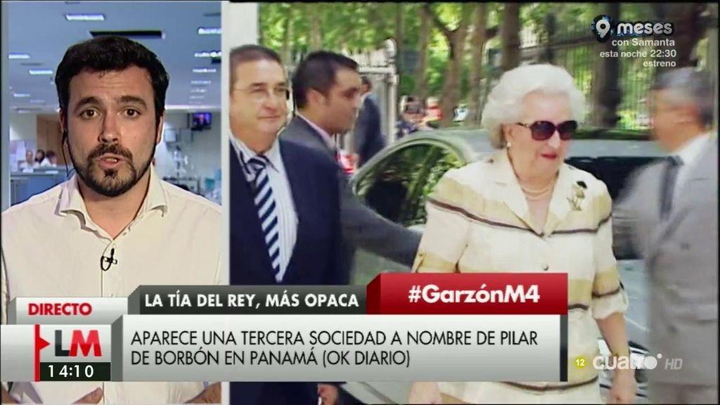 La entrevista de Garzón, a la carta