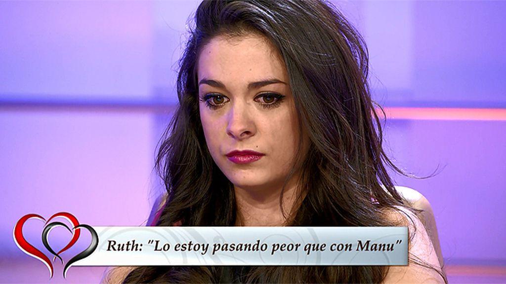 """Ruth, sobre Iván: """"Se acabó"""""""