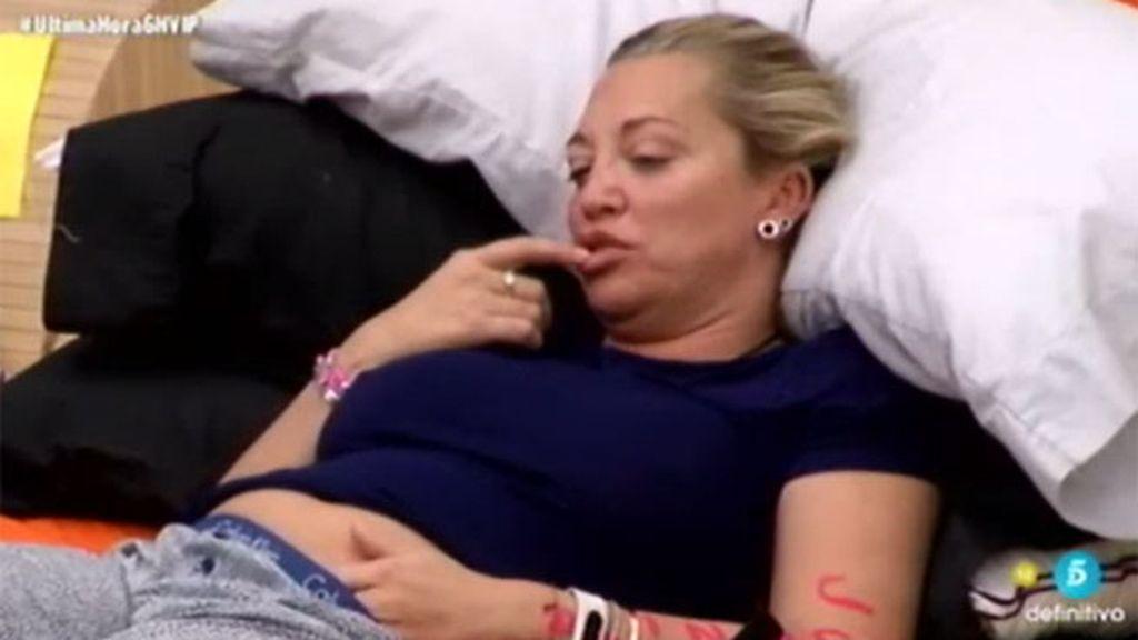 """Belén y sus problemas para ir al baño: """"Mira que barriga, parece que estoy embarazada"""""""