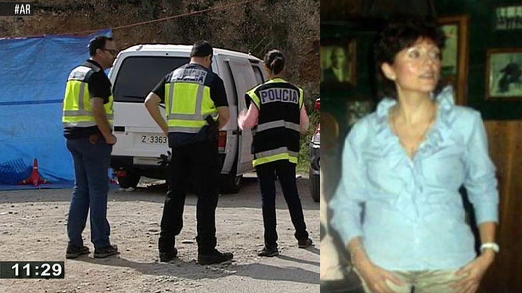 La policía busca a Pilar Cebrián en una zona de Ricla