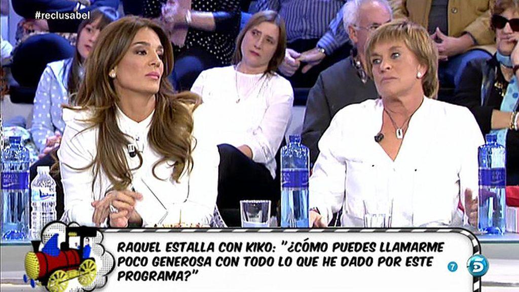 """Raquel, a Chelo: """"Tú quisiste vender la boda de Luis Rollán y no pudiste"""""""