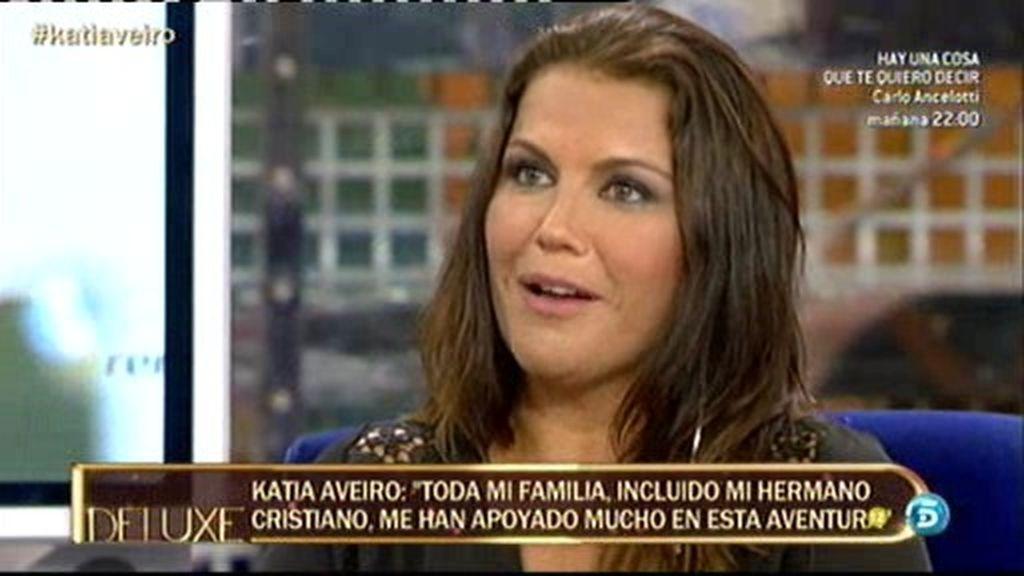 """Katia: """"Mi hermano siguió todo el concurso de 'Supervivientes'"""""""