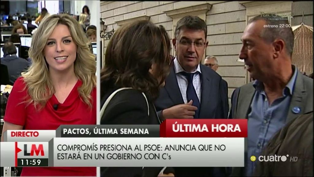 Baldoví anuncia que Compromís no formará parte de un gobierno en el que esté C's
