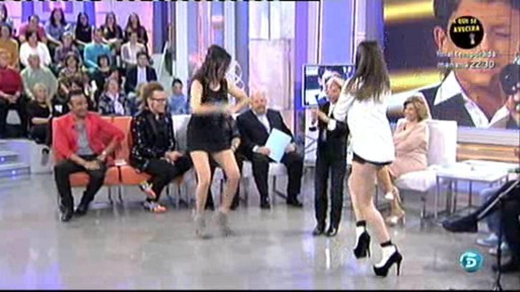 Las Super Singles se arrancan a bailar con la música de 'el Balilla'