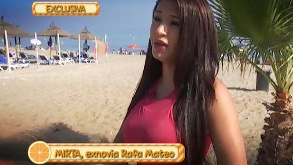 """Mirta, exnovia de Rafa Mateo: """"Me dijo que podía gastarse 18.000 euros en un día"""""""