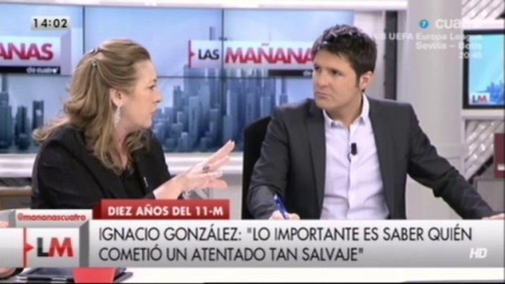 "Pilar Manjón: ""Ojalá el 11-M hubiese sido ETA porque no hubiéramos pasado este calvario"""