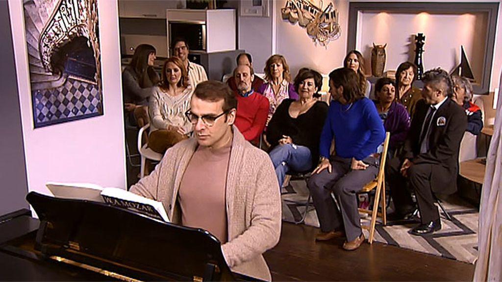 Conciertazo en el 1ºB: La música de Bruno amansa a las fieras montepinarianas