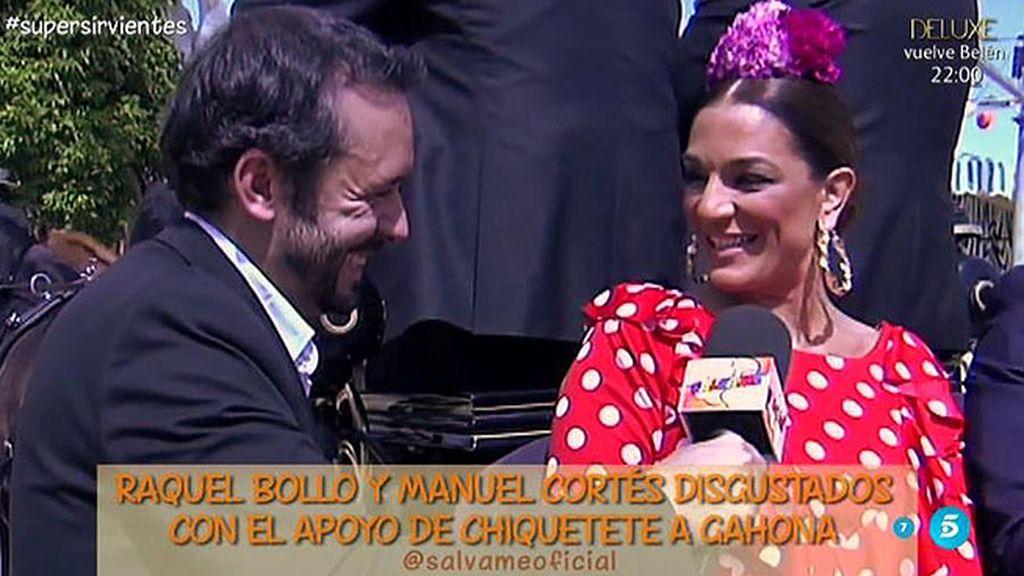 """Raquel, sobre Chiquetete: """"Me duele que esté pendiente de Gahona y no de mis hijos"""""""