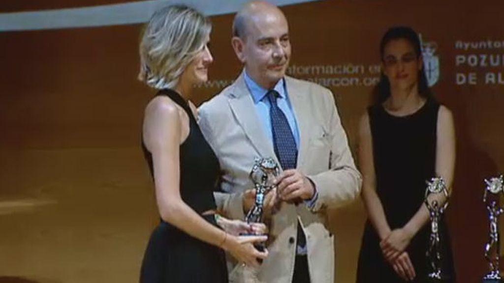 Ane Ibarzábal es galardonada con la 'Antena de Plata'