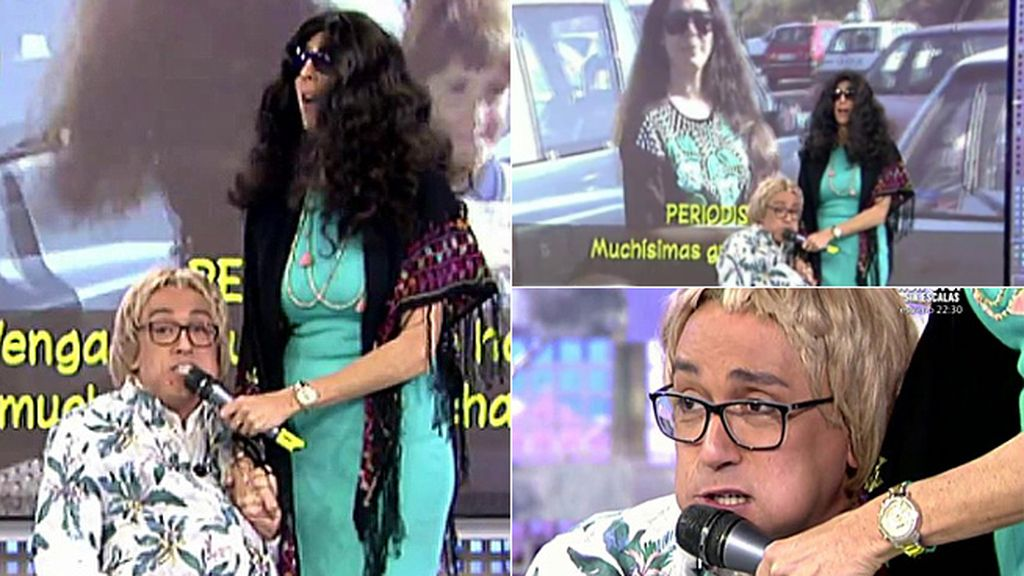 Kiko Hernández responde a Kiko Rivera con su imitación más sarcástica