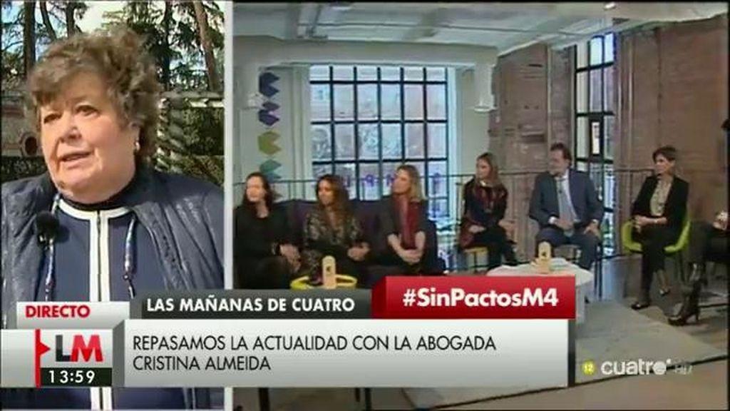 """Almeida, de la situación política: """"Están pegándose por las parejas de baile"""""""