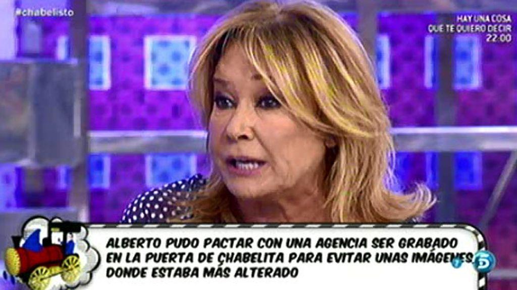"""Mila Ximénez: """"Alberto aprovechó que no había nadie para montar el escándalo"""""""