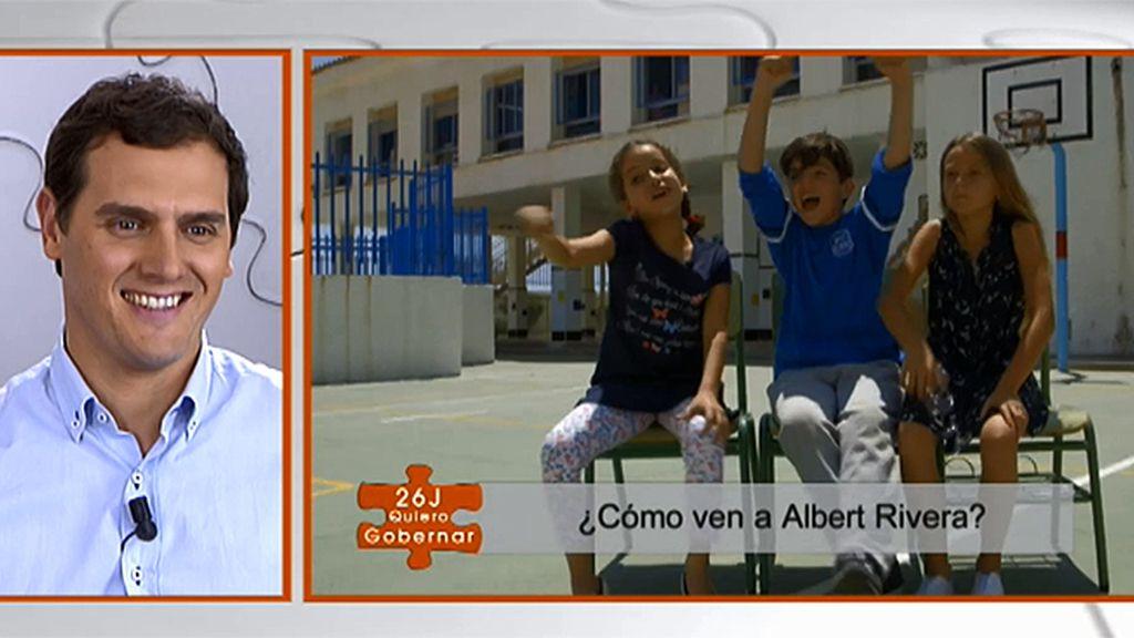 """¿Conocen los niños a Albert Rivera?: """"¿Es Kiko Rivera? ¿Es inglés?"""""""