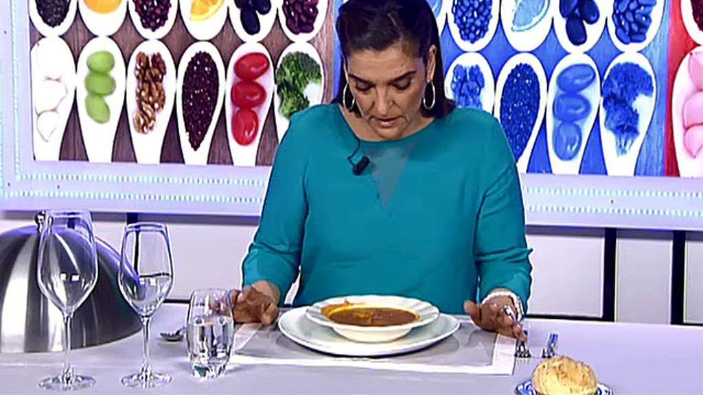 """María Jiménez Latorre, sobre el estofado de Espe: """"Parece una sopa de tropezones"""""""