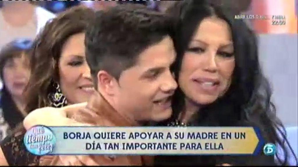 Borja Rilo, hijo de Toñi, sorprende a su madre