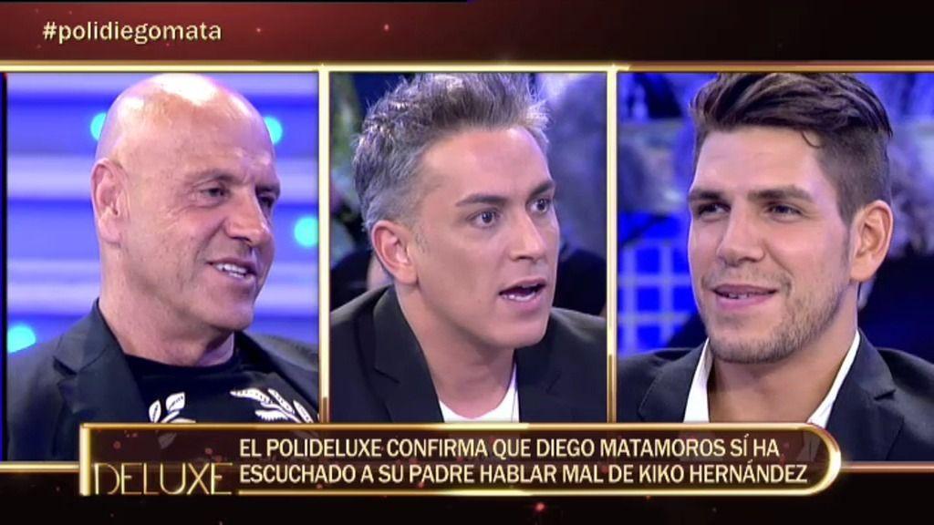 Kiko Matamoros habló mal de Kiko Hernández y Mila Ximénez