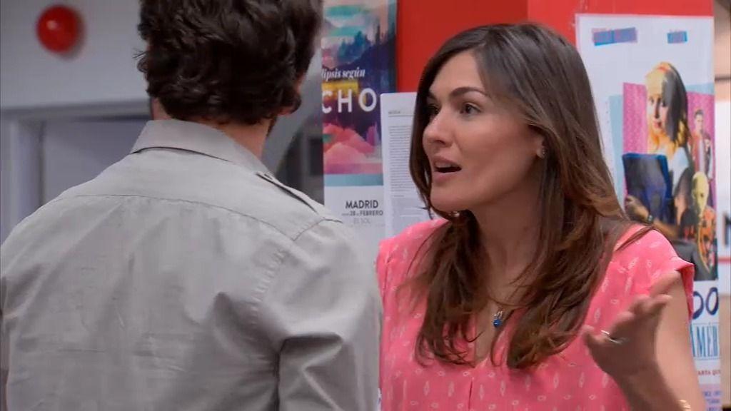 Natalia, celosa de la editora de Sergio