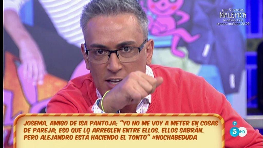 Kiko H, a Chabelita: ¿Por qué no cuentas a todos lo que me dijiste de Alejandro Albalá?