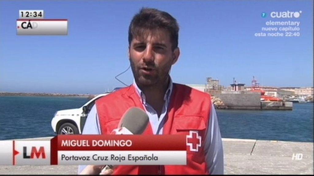 """Miguel Domingo, Cruz Roja: """"Nos hemos reforzado para atender a los inmigrantes"""""""