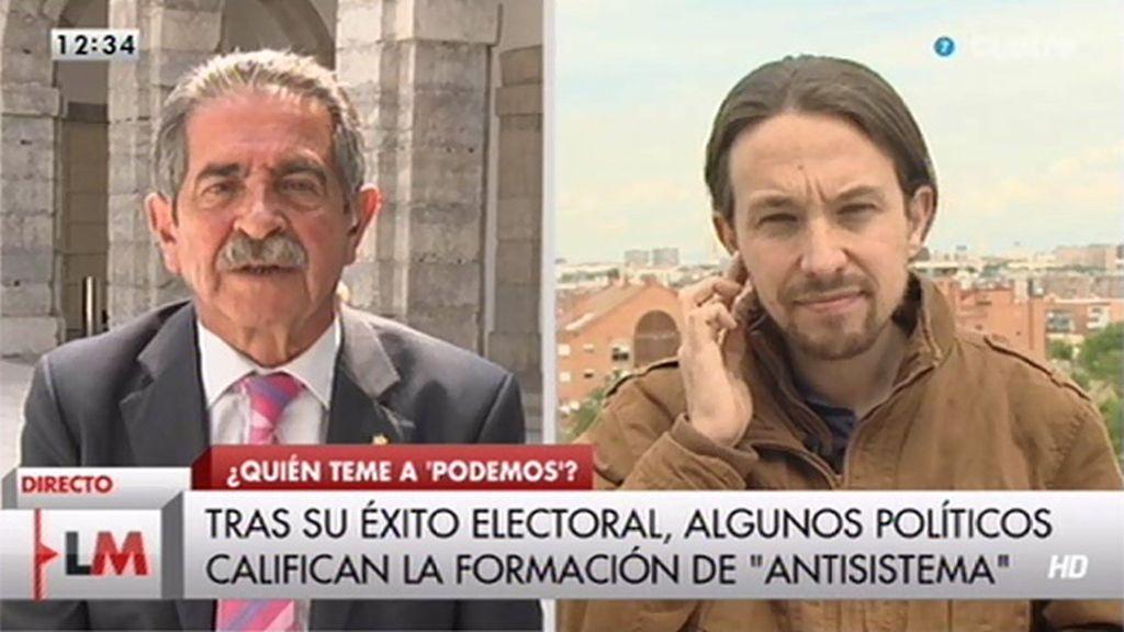 """Miguel Ángel Revilla aconseja a Iglesias: """"Prepárate, ahora eres rival de casi todos"""""""